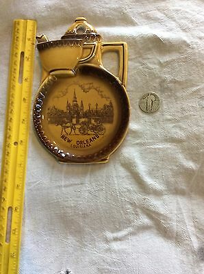 Vintage Circa 1960's Decorative Spoon Rest Featuring New Orleans Scene