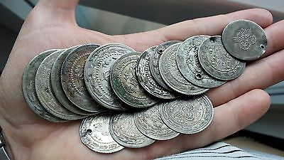 Many Turkish Silver Coins