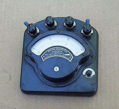 Weston Electric Voltmeter Model 280 volt test meter  Elec. Inst. Co. Newark NY
