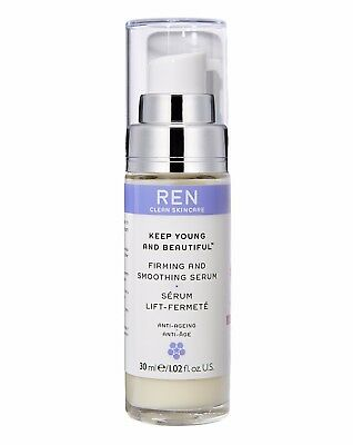 NEW REN Clean Face Keep Young&Beautiful &Smoothing Serum 30ml