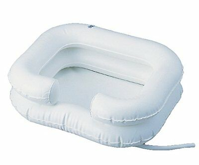 Deluxe Inflatable Shampoo Basin Bathing Aid - Wash Hair In Bed