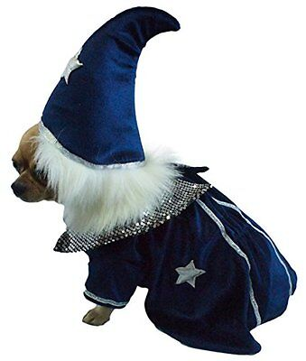 Dogs & Co Halloween Dog Costume, 10-inch, Wizard
