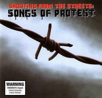 Songs Of Protest - Songs From The Streets / Various Artists - 2 Cd Set