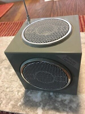 Vintage Parfums Lagerfeld Novelty Transistor Radio Works Great!