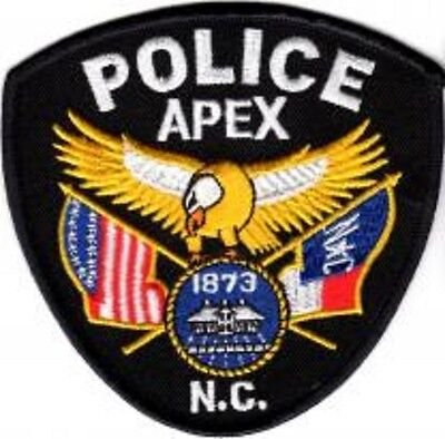 Apex Police Patch North Carolina  NC NEW