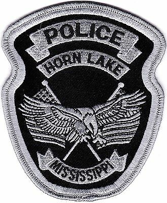 Horn Lake Police Patch Mississippi MS NEW!!