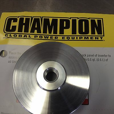 Champion Model #100233 3400W Inverter Generator Extended Run Fuel Cap