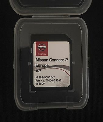 Nissan Connect 2 V2 Sd Card Navigation 2017-2018 Map Note/juke/micra/leaf/env200