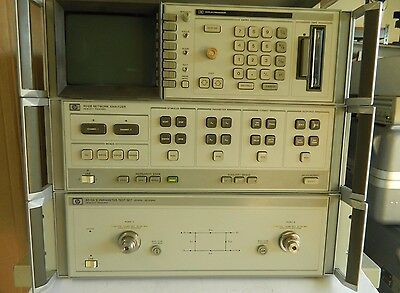 Hp 8510B/8515A, Network Analyzer And S Parameter Set, 45 Mhz-26.5 Ghz