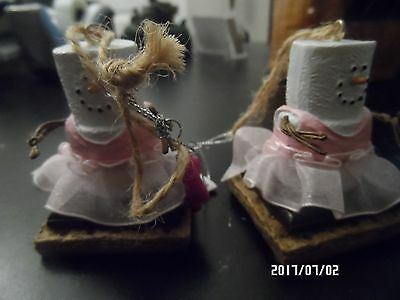 S'mores Ballerina  Resin Christmas Ornament by Midwest-CBK