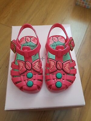 *new* Mini Melissa Baby Girls Shoes - size 19 (roughly 12mths)