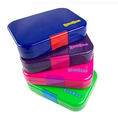 Yumbox Lunchbox  Brotdose, ORIGINAL Kinder Erwachsene 3, 4, 6 Fächer