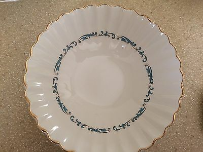 J & G Meakin Classic White Chateau 4 Coupe Cereal Bowls