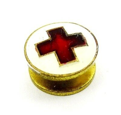Vintage Old Red Cross Spain Pin Buttonhole