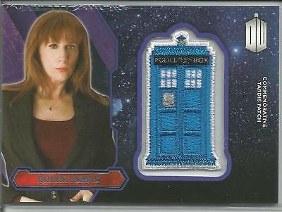 Doctor Who 2015 Topps Donna Noble Tardis Patch Card FREE S/H