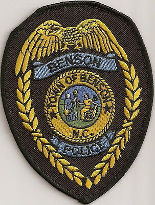 Town of Benson Police North Carolina patch NEW