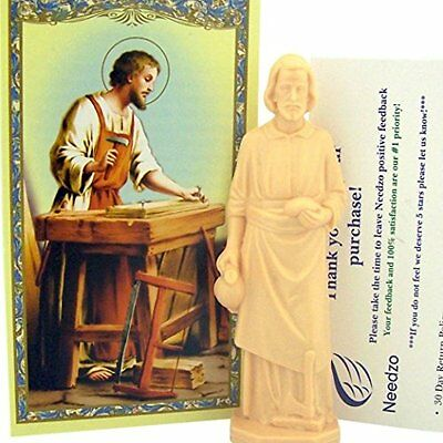 Religious Gifts Saint Joseph Statue Home Seller Kit with Prayer Card and...