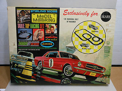 Aurora 1969 Stirling Moss Table Top Racing Set