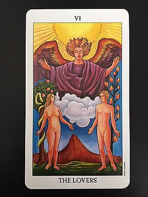 Trumps - 6 The Lovers INDIVIDUAL CARD Radiant Rider-Waite Tarot (Full Size)