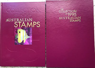1995 Australia Post Deluxe Collection Yearbook Album with all stamps***