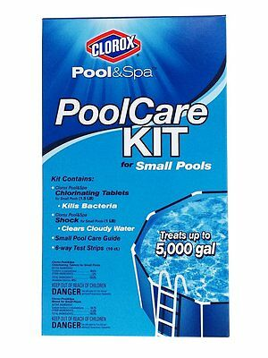 Clorox Pool&Spa 69000CLX Pool Care Kit for Small Pools