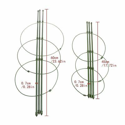 45cm 60cm Garden Plants Support Climbing Plant Trellis Conical Supporter Frame