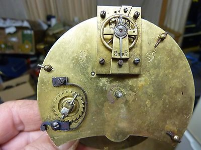 Antique French Clock Platform Movement - Repair (Pf6)