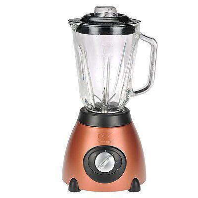Kalorik 500-Watt 2-Speed Countertop Blender with 50-Oz. Glass Jar, Aztec Copper
