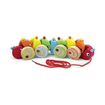 NEW Pull Along Worm Learning  Educational Toy Kids Childrens Toys