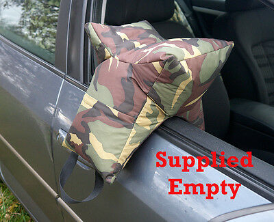 Grappler Camera Bean bag, Wildlife Photography Bean Bag. Army DPM empty.