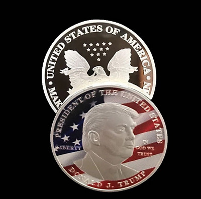 2017 President Donald J Trump Presidental Liberty Coin Make America Great Again.