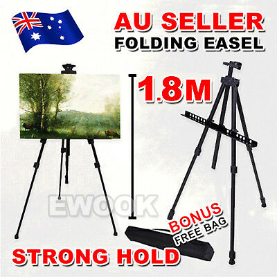 1.6M Adjustable Stand Tripod Easel Display Drawing Board Artist Sketch Painting