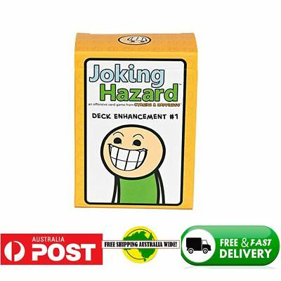 NEW Joking Hazard 1 st expansion Party Card Game Best from Cyanide &Happiness EX