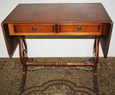 Antique Regency Lyre End Yew Sofa Table Early 20C - FREE Shipping [PL1081]