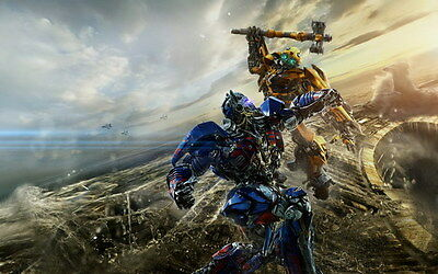 """038 Transformers 5 - The Last Knight 2017 Action Movie 22""""x14"""" Poster"""