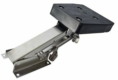 Stainless Steel Marine/boat Outboard Auxiliary Motor Bracket- Up To 10Hp