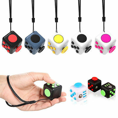 Magic Fidget Cube Anti-anxiety Stress Relief Adult Kids Child Desk Toy Gift BF