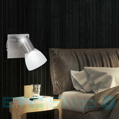 wandlampe wandleuchte glas holz schlafzimmer wohnzimmer eur 19 00 picclick de. Black Bedroom Furniture Sets. Home Design Ideas