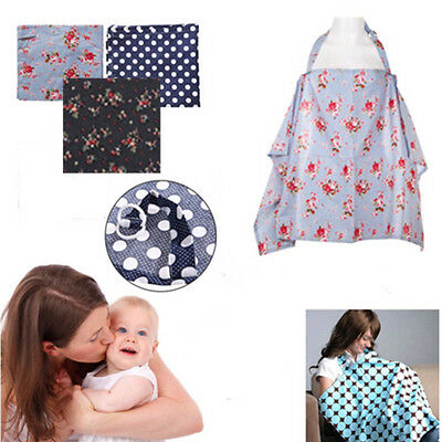 Portable Shawl New Cotton Breast Feeding Hot Covers  Printed  For Baby Nursing