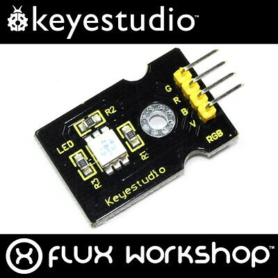 Keyestudio 5050 RGB LED Module 5V KS0032  Arduino Raspberry Pi PWM Flux Workshop