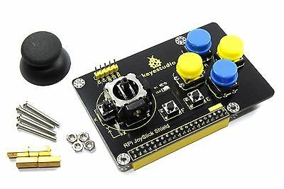 Keyestudio Raspberry Pi Joystick Keypad Shield KS0211 PS2 B+ A+ 2 Flux Workshop