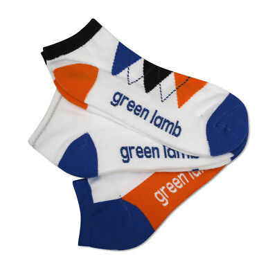Green Lamb Supersoft Socks - Pack of 3 in Orange