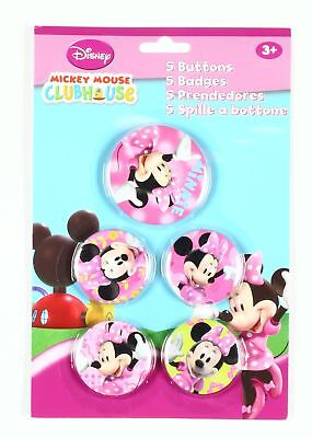 Pin's Mickey Mouse 5 badges de Minnie, Disney