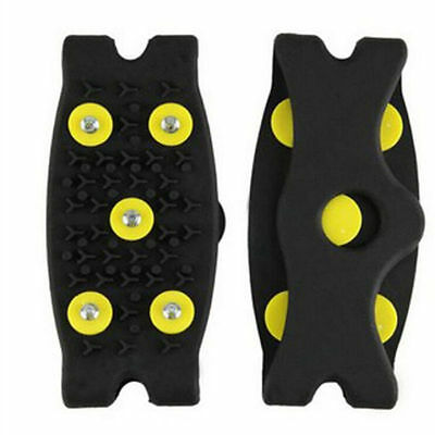 Spikes  Cleats  Climbing  Anti Slip 2016 Snow  Cover  5-Stud Shoes Grips