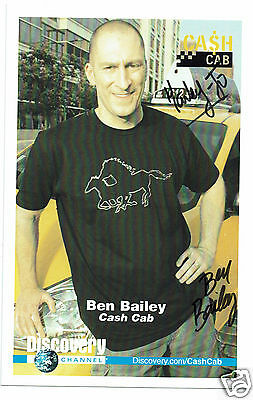 Ben Bailey American Comedian Cash Cab  Hand signed Photograph 9 x 5