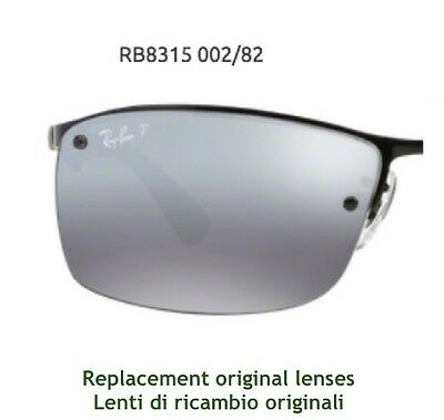Ray Ban Rb 8315 Replacement Original Lenses Ray Ban Rb 8315 Lenti Di Ricambio