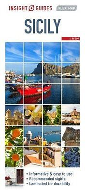 Insight Flexi Map Sicily, Guides, Insight, New Book