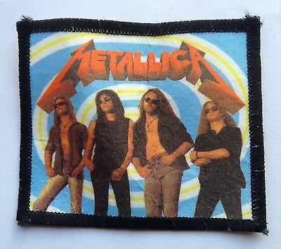 Metallica Vintage Sew On Patch
