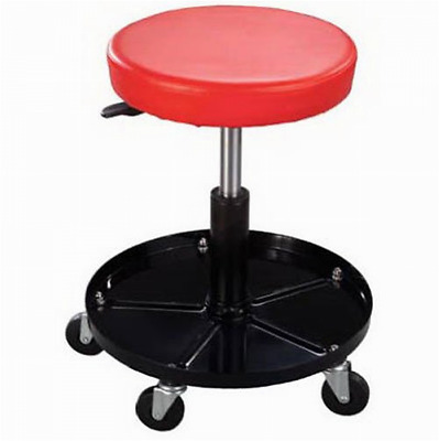 New Pro-Lift C-3001 Pneumatic Chair with 300 lbs Capacity   Black / Red