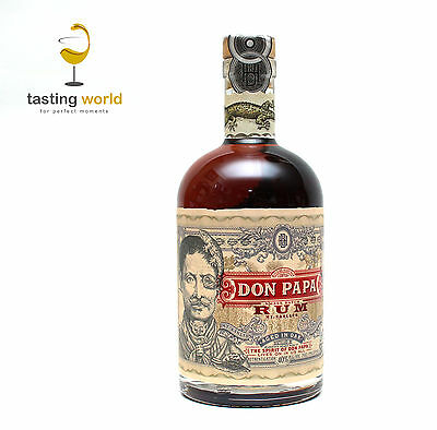 DON PAPA Rum - Philippinen - 0,7l 40% - 7 Jahre American Oak